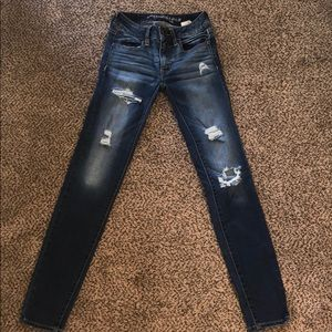 American eagle super super stretch jeans